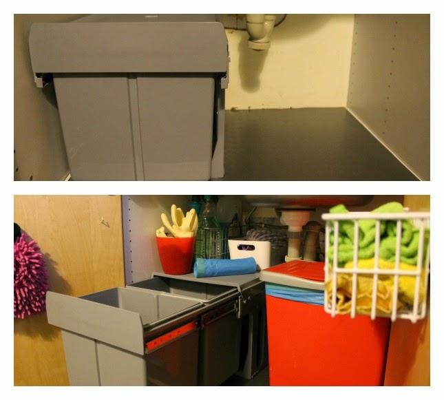 DE SUEÑOS Como organizar el mueble del fregadero Small&LowCost