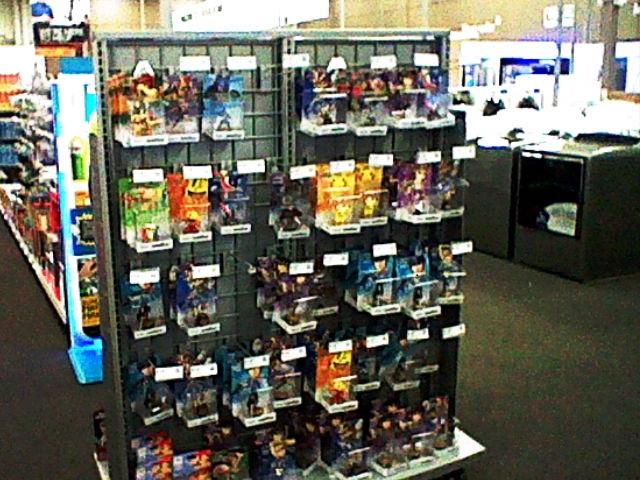 Dedicated Best Buy amiibo shelf store display