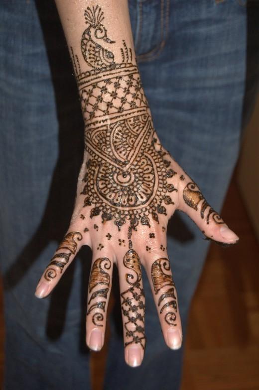 Muslim Mehndi Patterns : Muslim fashion wallpaers wedding