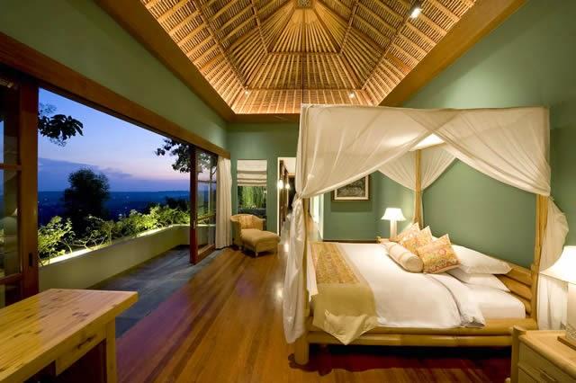 . Bedroom design idea villa in bali