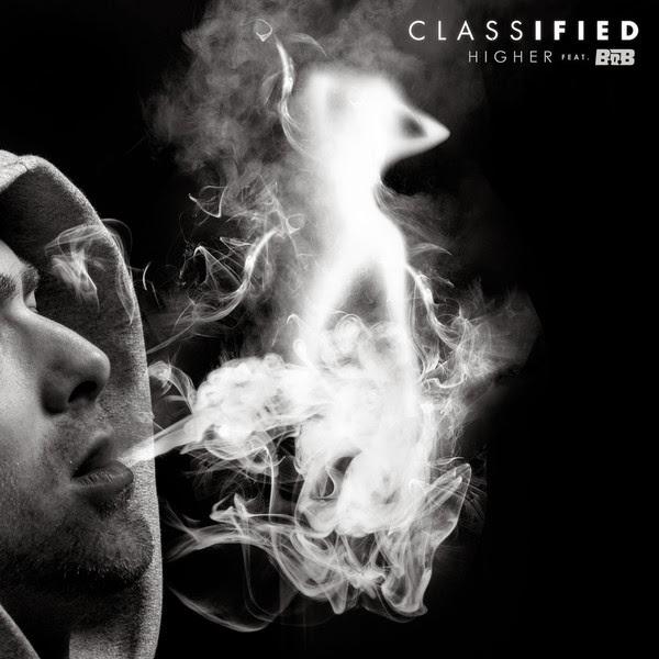 Classified - Higher (feat. B.o.B) - Single Cover