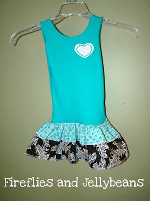 Fireflies And Jellybeans Easy Toddler Summer Ruffle Dress