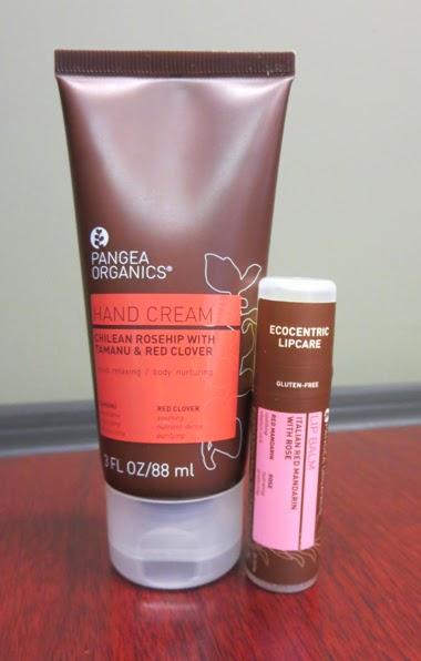 Pangea Organics Hand Cream & Lip Balm