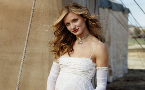 Cameron Diaz Calvin Klein Model Wallpapers