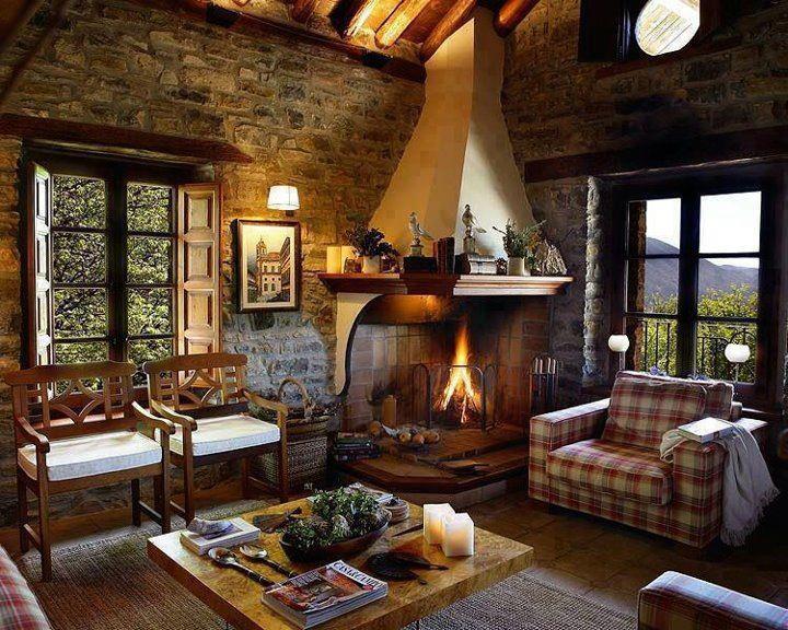 De tudo um pouco tem casa r stica - Casas rusticas por dentro ...