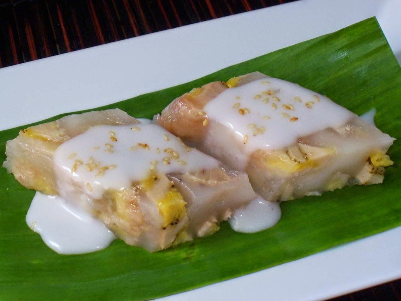 Vietnamese Food Culture - Bánh Chuối Nước Cốt Dừa
