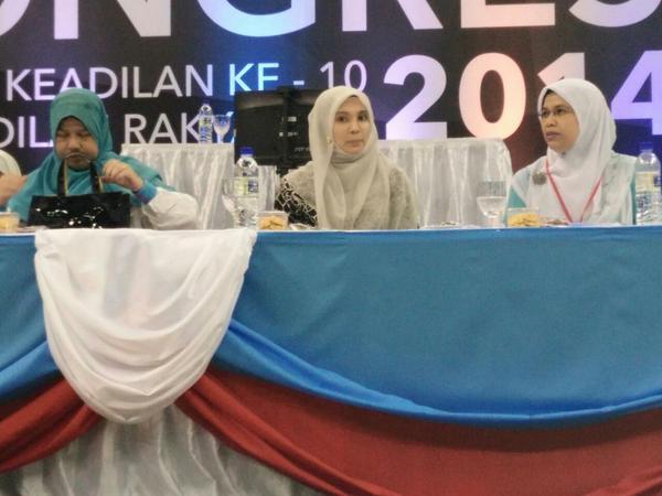 Nurul Izzah sindir siapa dalam ucapan perasmian Kongres Wanita PKR ni
