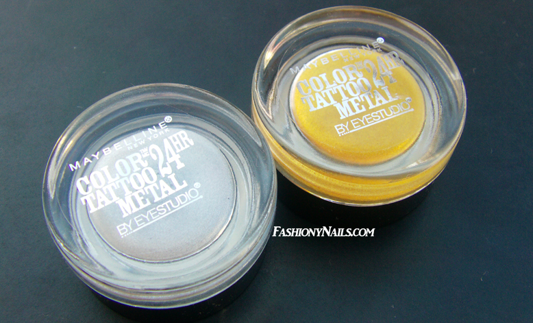 Maybelline Color Tattoo in Gold Rush and Silver Strike