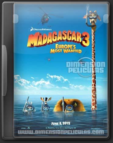 Madagascar 3 (DVDRip Español Latino) (2012)