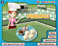 Permainan Memasak Sara Pierogi