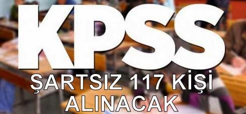 kpss şartsız iş ilanları