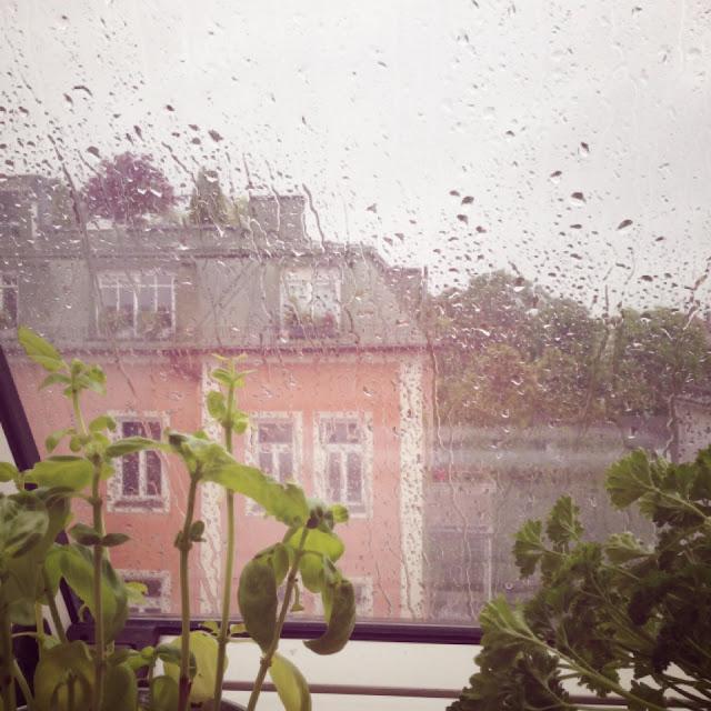 Dauerregen in München