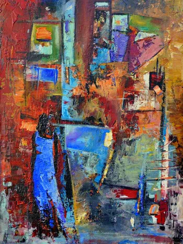 Алжирский художник. Rekouane Kamel