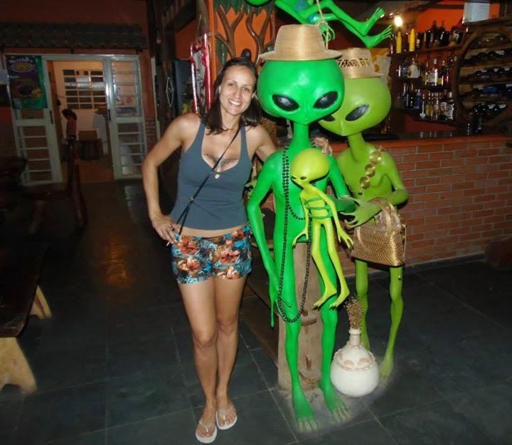 Nossos amigos verdinhos né Alice? UFO São Jorge, Chapada dos Veadeiros