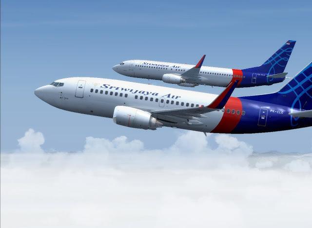 Foto Gambar Pesawat Terbang Sriwijaya air 29