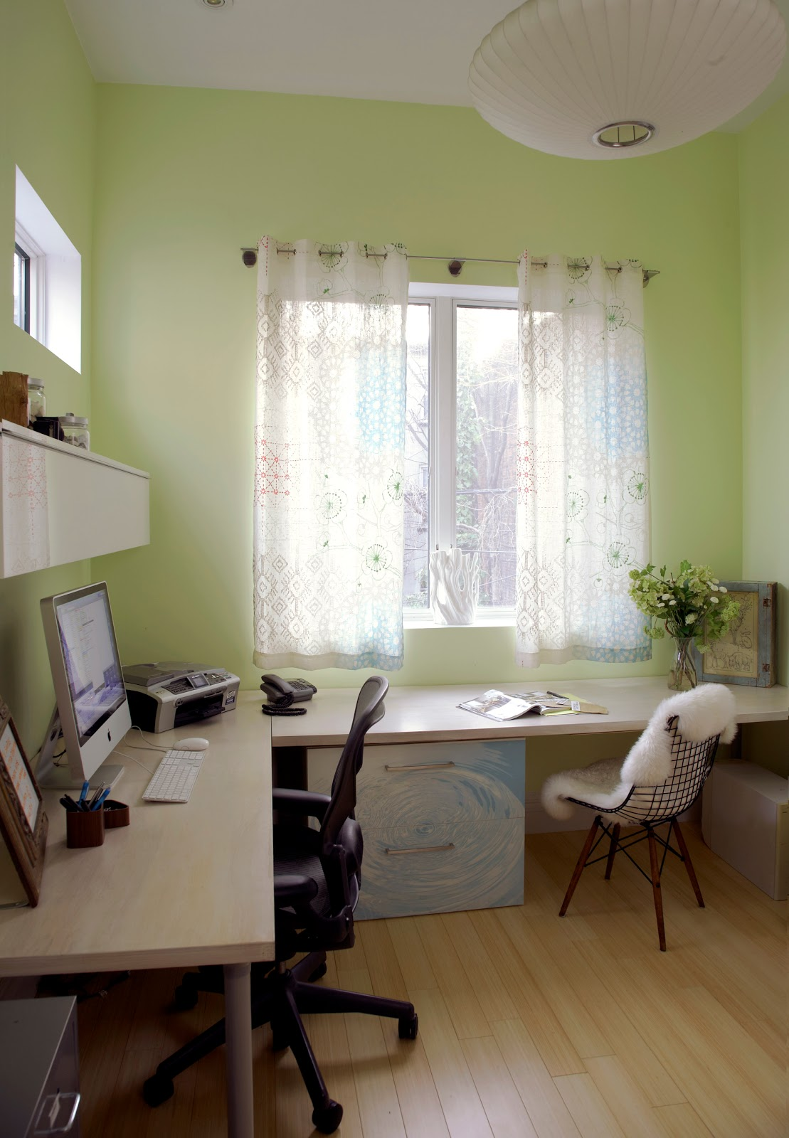 home office solution. A Home Office Solution For Hiding Gear And Adding Storage, Courtesy IKEA - CAVDESIGN R