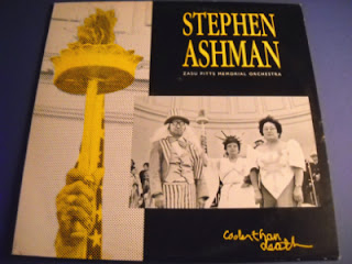 STEPHEN ASHMAN / ZASU PITTS MEMORIAL ORCHESTRA-COOLER THAN DEATH, LP, 1984, USA