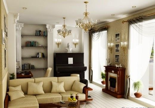 Multifunctional Living Room Design Part 2