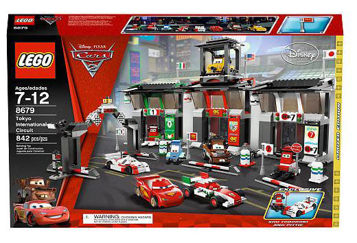 Lego Cars  The Great Race Case
