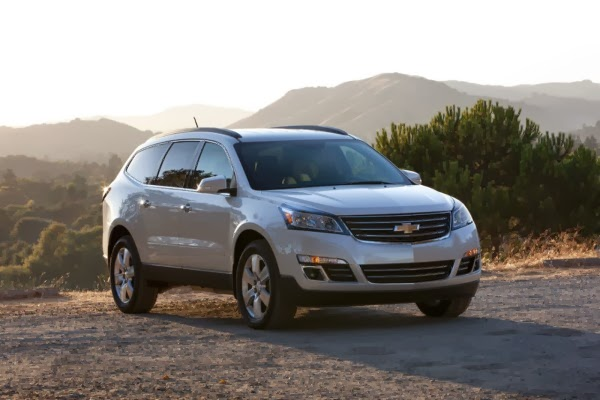 Chevy Traverse Earns Five-Star Overall Safety Rating