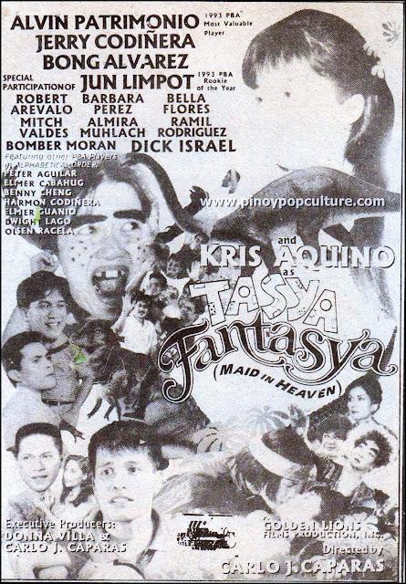 Carlo J. Caparas, Alvin Patrimonio, Kris Aquino, Tasya Fantasya