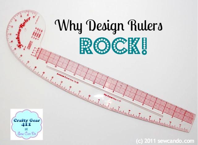 sew can do crafty gear 411 styling design ruler rocks