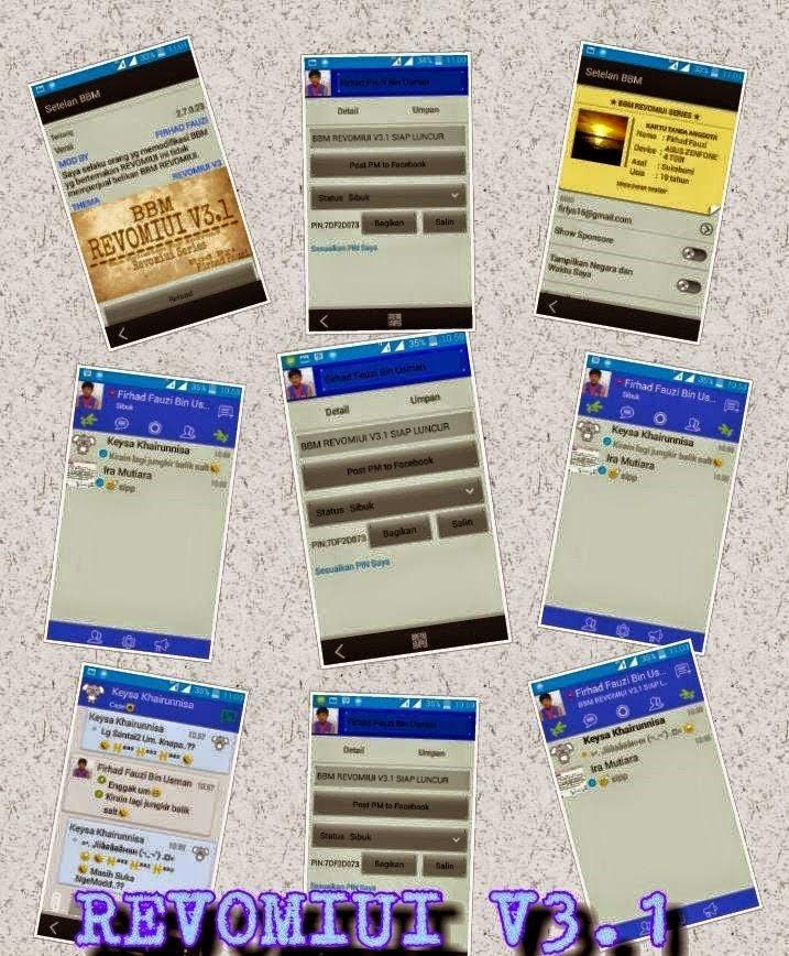 BBM Mod REVOMIUI 3.1 v2.7.0.23
