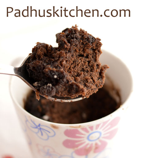 Chocolate Mug Cake Recipe Small