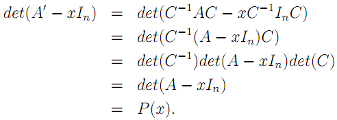 Linear Algebra: #15 Why is the Determinant Important? equation pic 3