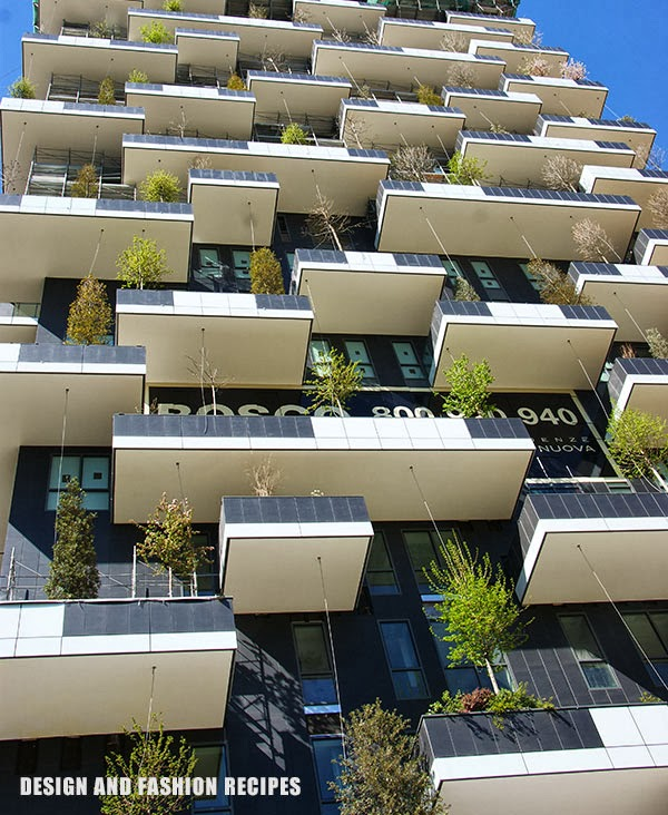 BOSCO VERTICALE, MILANO, DESIGN AND FASHION RECIPES