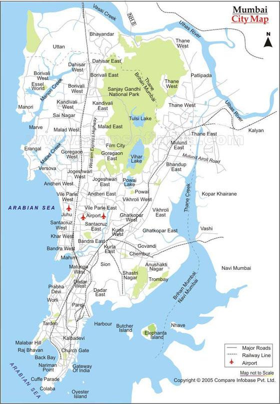 Mumbai Maps Ima...