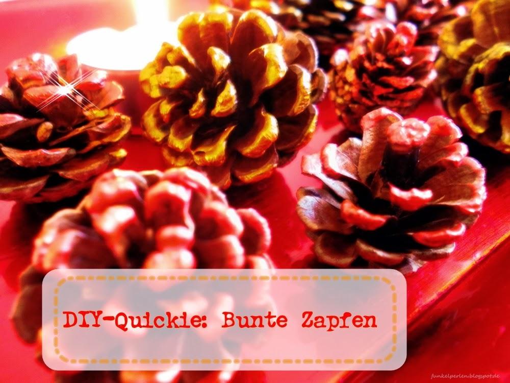DIY-Quickie: Bunte Zapfen