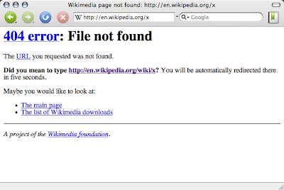 2 Sebab Berlaku '404 Error' Dalam Blog