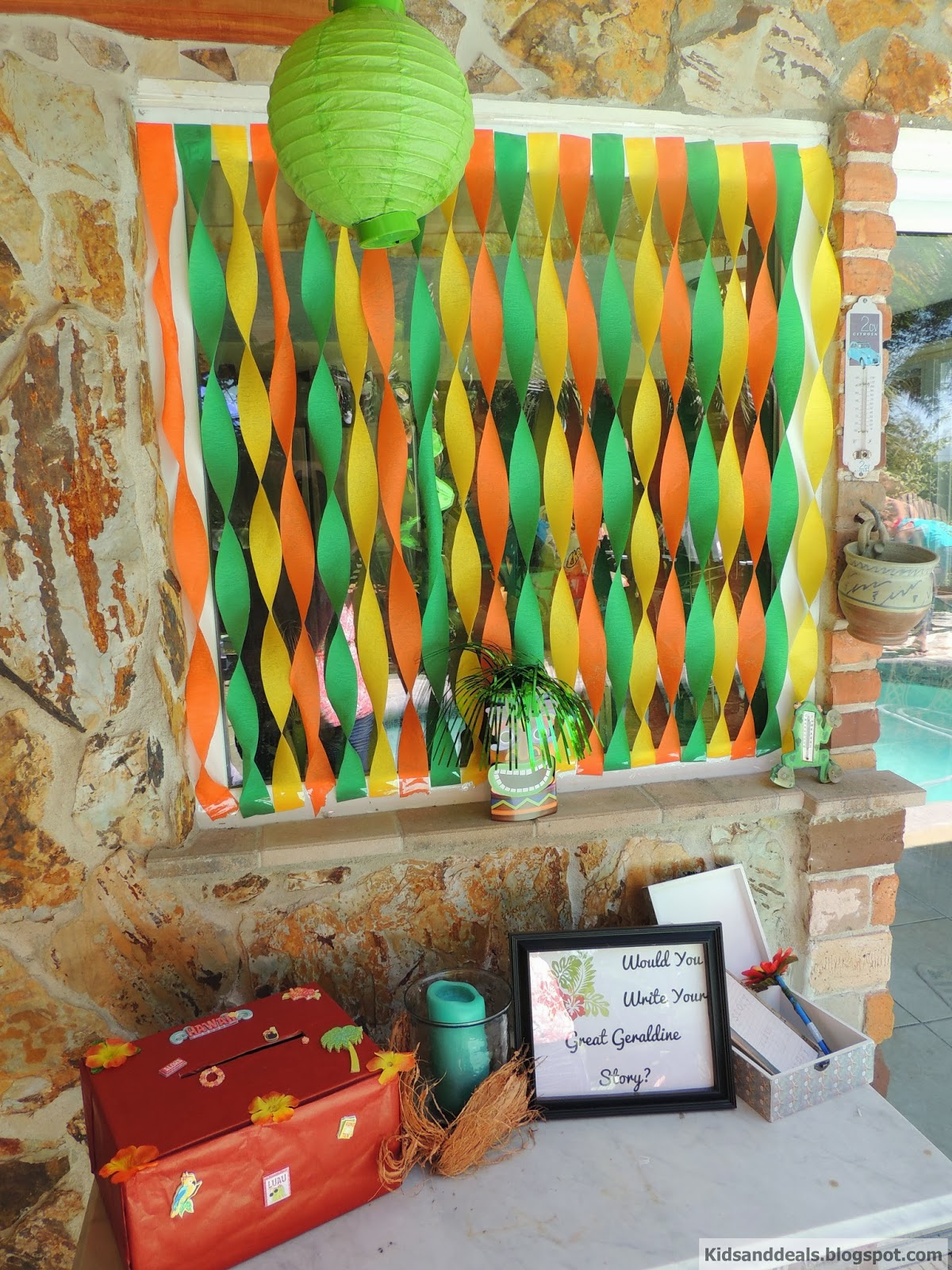 Kids and deals luau 60th birthday party for 60th party decoration ideas