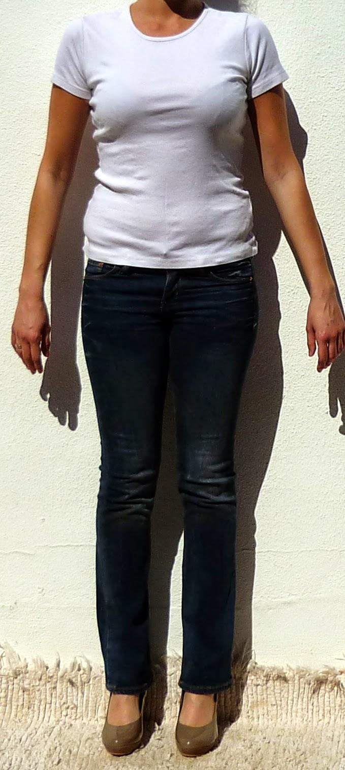 vaqueros camiseta algodon