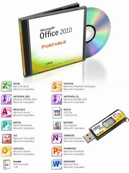 Microsoft office 2010 portable free download free crack - Office 2014 portable ...