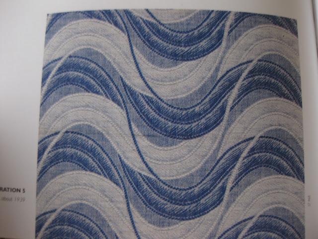 art deco tekstiili