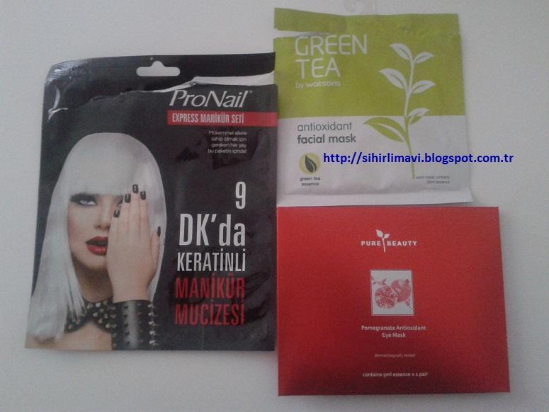 pronail, watsons, green tea, pure beauty