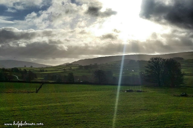 Sunny morning Yorkshire dales