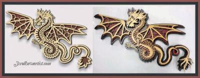 http://www.scrollsawartist.com/fretwork-dragon.html