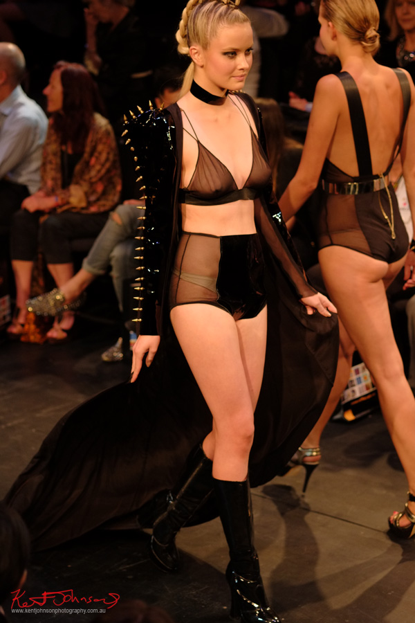 Gothic Erotic, Raffles Graduate show 2012, Designer Will Brunton.