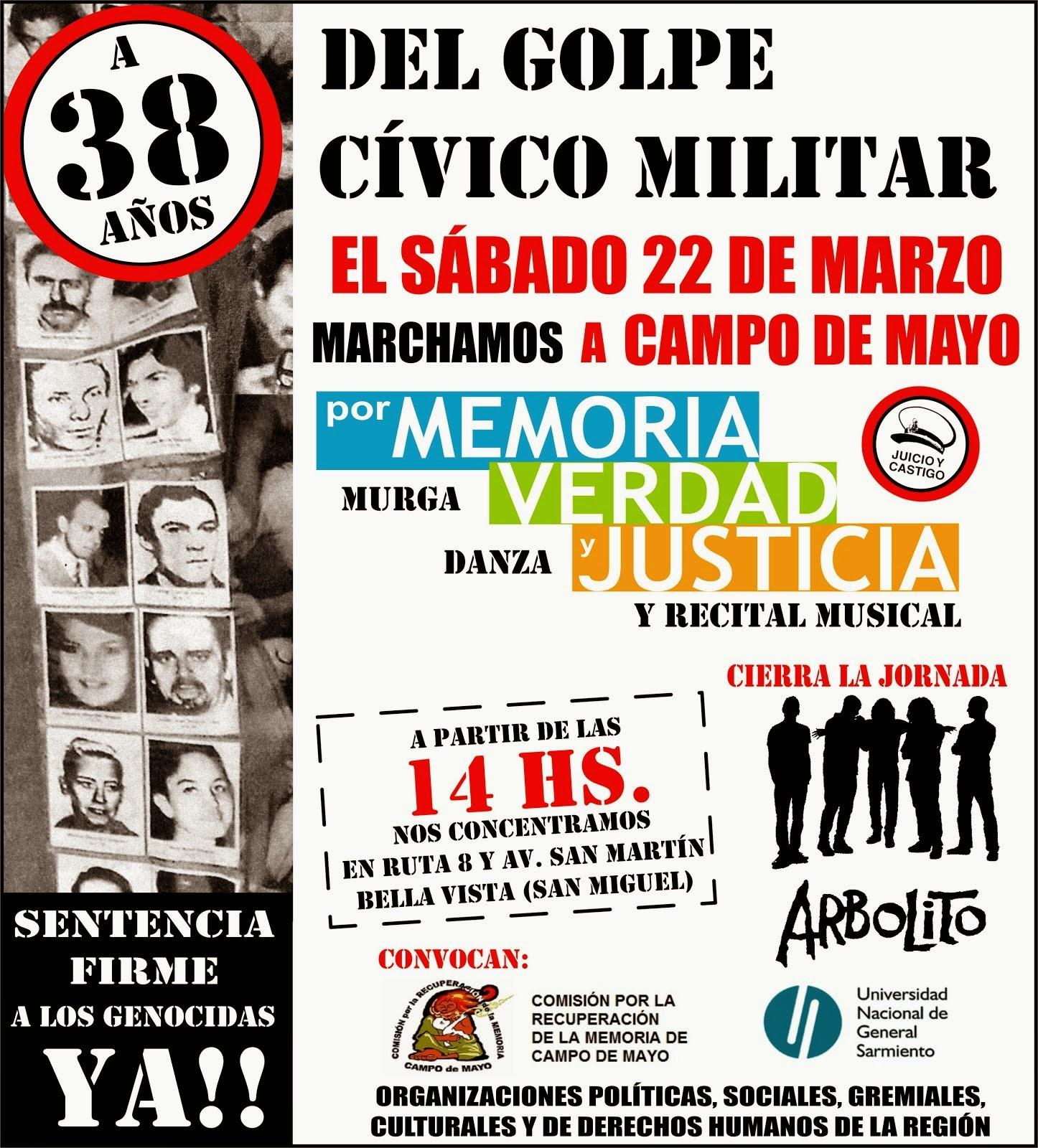 Prensa comision campo de mayo for Puerta 7 campo de mayo