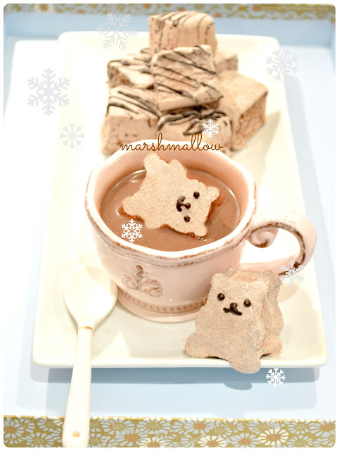 Cherie Kelly's Bear Chocolate Marshmallows
