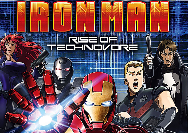 through alien eyes iron man rise of technovore 2013