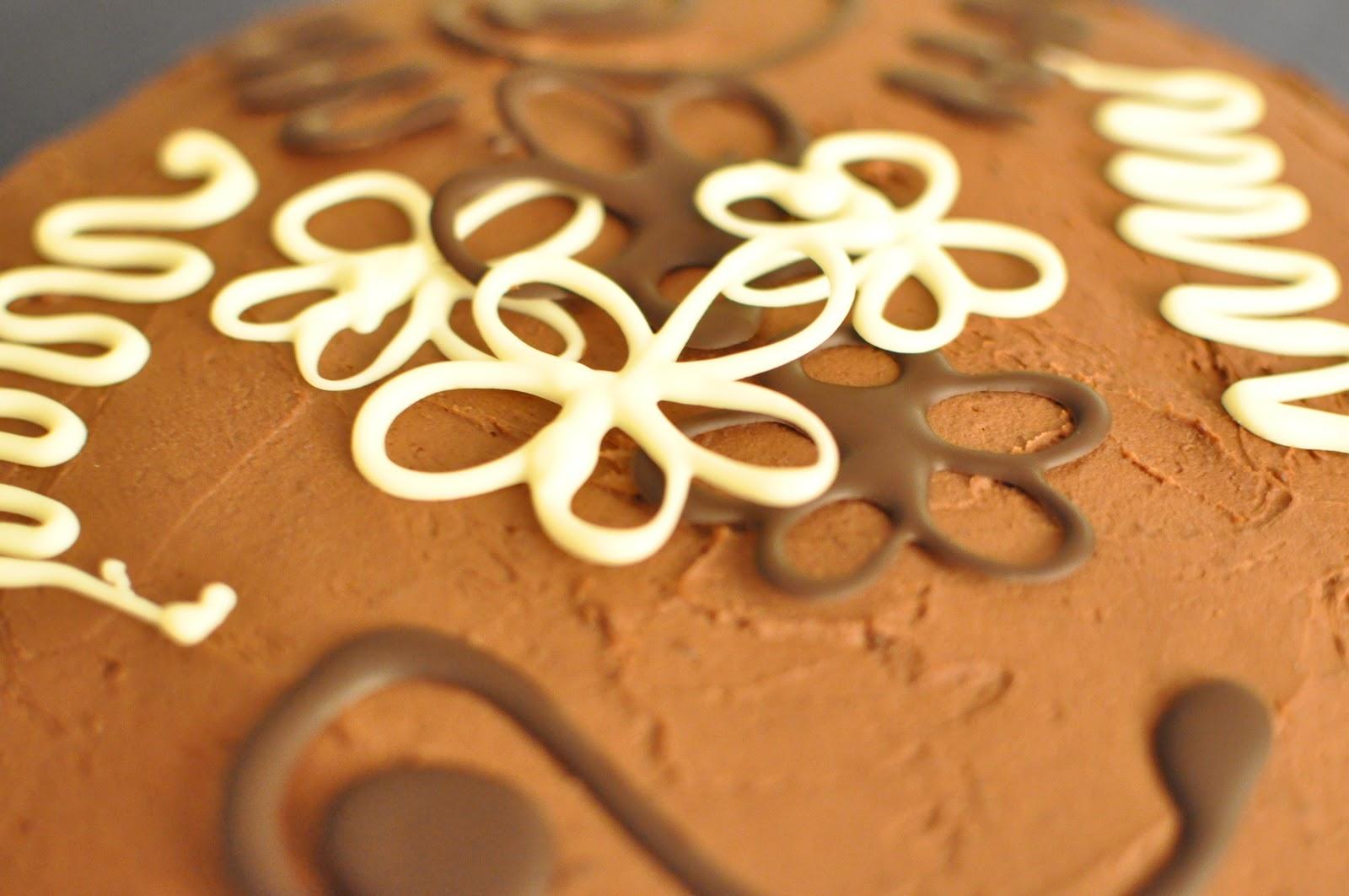 chokladdekoration steg för steg