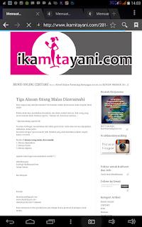 cara promosi artikel blog, cara memakai instagram untuk promosi artikel blog, cara promosi blog dengan Instagram