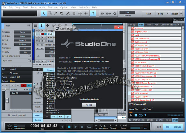 studio one 4 free download full version