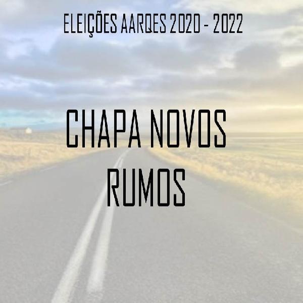 Chapa Novos Rumos - Eleição 2020