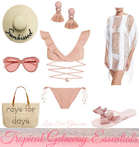 Fabulous Beachwear For A Tropical Getaway.