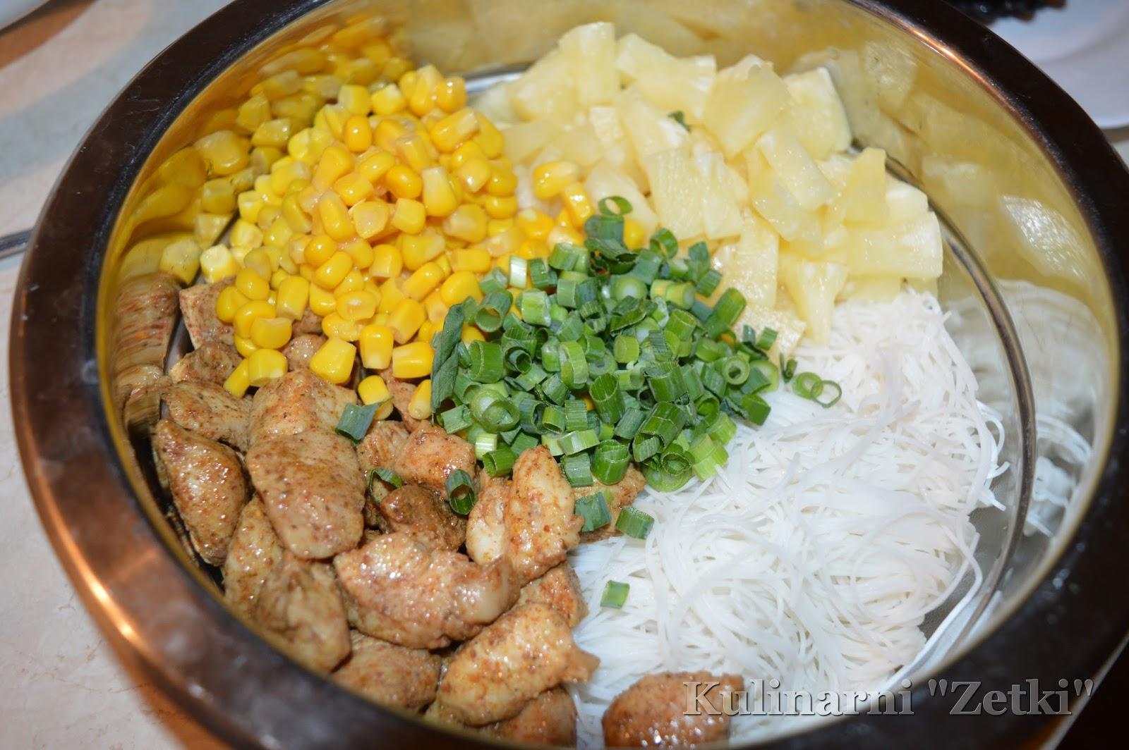 Kulinarni Czyli Uczniowie Zetki Pichca Salatka Z Makaronem